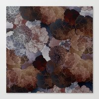 FLORAL EARTH Canvas Print