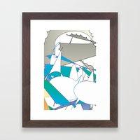 Color #7 Framed Art Print