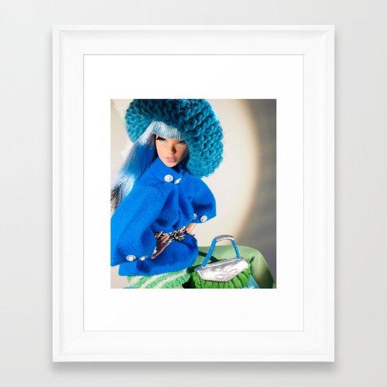 Modular Hues Framed Art Print