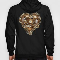 Steampunk Heart Love Hoody