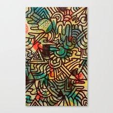 Random Memories Canvas Print