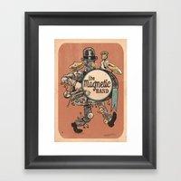Magnetic Drumer Framed Art Print