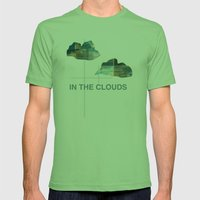 In The Clouds Mens Fitted Tee Grass SMALL