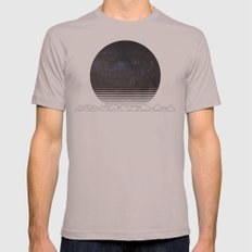 Spacescape Variant Mens Fitted Tee Cinder SMALL