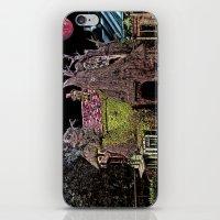 Haunted Tree House iPhone & iPod Skin