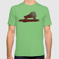 Bloody Skating - The Rac… Mens Fitted Tee Grass SMALL