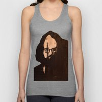 Who stood before you speechless — Allen Ginsberg Unisex Tank Top