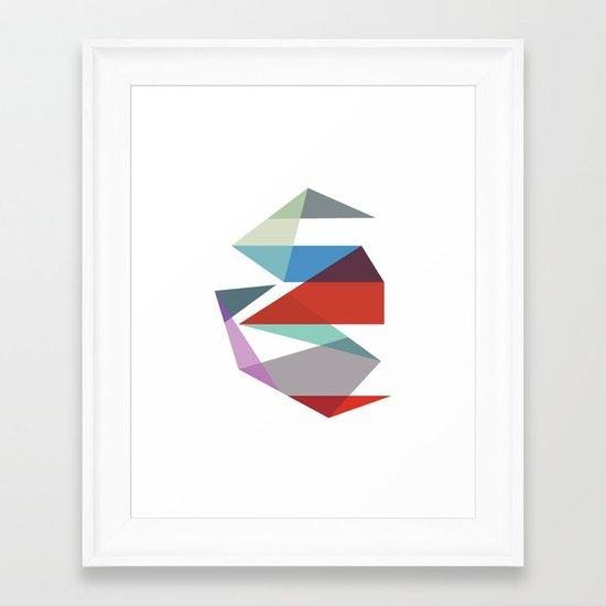 Shapes 015 Framed Art Print