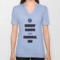 redacted. Unisex V-Neck