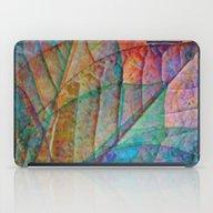 Rainbow Leaves iPad Case