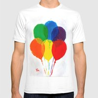 CELEBRATION Mens Fitted Tee White SMALL