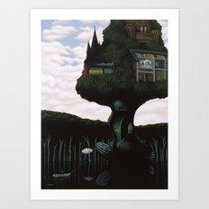 The Remembering Tree Art Print