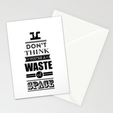 HP Quotes - Deathly Hallows Stationery Cards