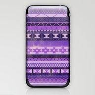 Native Spirit (Purple) iPhone & iPod Skin