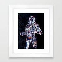 Cut StarWars Blister Collage 3 Framed Art Print