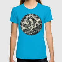 UNTITLED 1 Womens Fitted Tee Teal SMALL