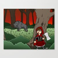 Little Red Riding Hood V… Canvas Print