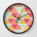THE BRIGHTEST TRIANGLES Wall Clock