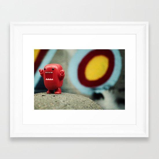 I8U Framed Art Print