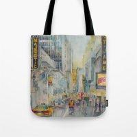 Broadway,  New York - Fi… Tote Bag