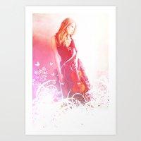 Light Echos Art Print