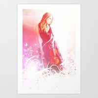 Light Echos Art Print
