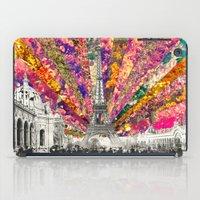 Vintage Paris iPad Case