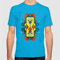 Heisenberg Fan Art Mens Fitted Tee Teal SMALL