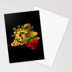 Beheaded with Flowers Stationery Cards