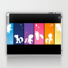 Rainbow Ponies Laptop & iPad Skin