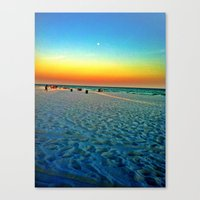 Canvas Print featuring Destin,FL  by Lindsey
