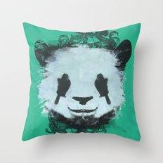 Pretty Panda Throw Pillow