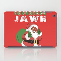Christmas Jawn iPad Case