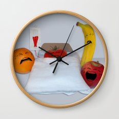 I'm Sorry He's A Vegetable Wall Clock