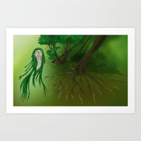 Forest Of Life Art Print