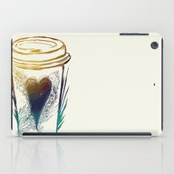 I Love Coffee iPad Case