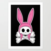 Taking it to my grave! Art Print