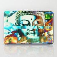 Glitch Buddha #3 iPad Case