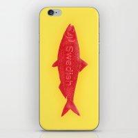 Swedish Fish iPhone & iPod Skin