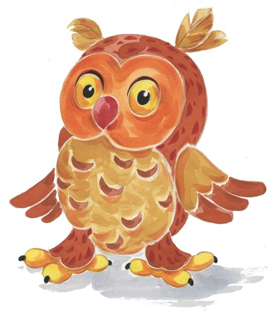 Nighty Owl  Art Print