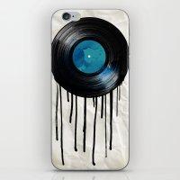 vinyl drip iPhone & iPod Skin