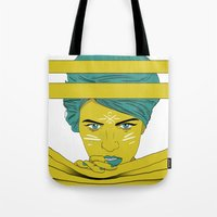 She's Always Watching  Tote Bag