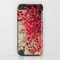 iPod Touch Cases featuring Autumn Inkblot by Olivia Joy StClaire
