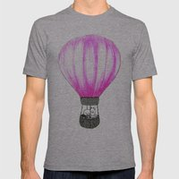 Balloon Mens Fitted Tee Athletic Grey SMALL