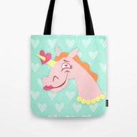 Unicorn Love At First Si… Tote Bag