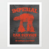 Imperial Car Service (Sa… Art Print