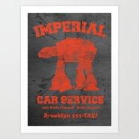 Imperial Car Service (Sa… Art Print