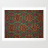 Kaleido Art Print