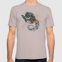 Migrating South Mens Fitted Tee Cinder SMALL