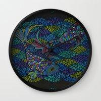 Ichthyology Wall Clock